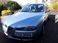 Alfa Romeo 156 Sportwagon for sale, facelift, lovely condition car, 2005, 1.8l petrol, 134,000 miles