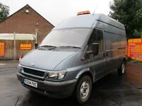 04 2004 FORD TRANSIT 2.4 350 VAN 112K MOT 10/3/17 LONG WHEEL BASE LWB HIGH ROOF PX SWAPS