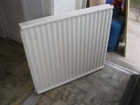 SECOND HAND DOUBLE RADIATOR 30INCH HEIGHT X 33 INCH