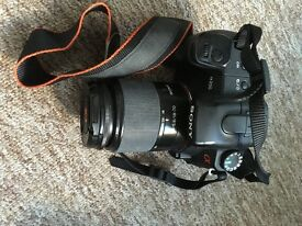 Sony DSLR A-200 with Sony 18-70mm f 3.5 - 5.6 Lens