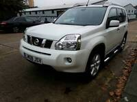 New Shape 2008 Nissan X-Trail 2.0 ARCTIX EXPEDITION DCI 5d AUTO 150 BHP STUNNING CAR –Pearl White