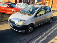 TOYOTA YARIS 2002 5door 998cc LOW MILES PART EX TO CLEAR £495