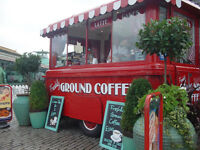 Vintage Trailer Coffee & Donuts 1953 Vanguard Catering van Classic could be an Ice Cream van trailer