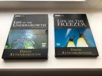 2 Set BBC DVDs David Attenborough Documents