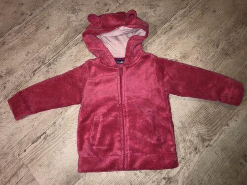 61cd8b73552522 Teddyjacke Kuscheljacke Jacke pink mit Ohren Gr. 86 / 92 Lupilu in Naila