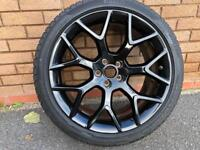 """Winter tyres and 19"""" alloys FType Jag"""