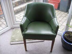 4 retro tub chairs