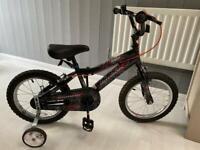 Spiderman children's bike 16' wheels