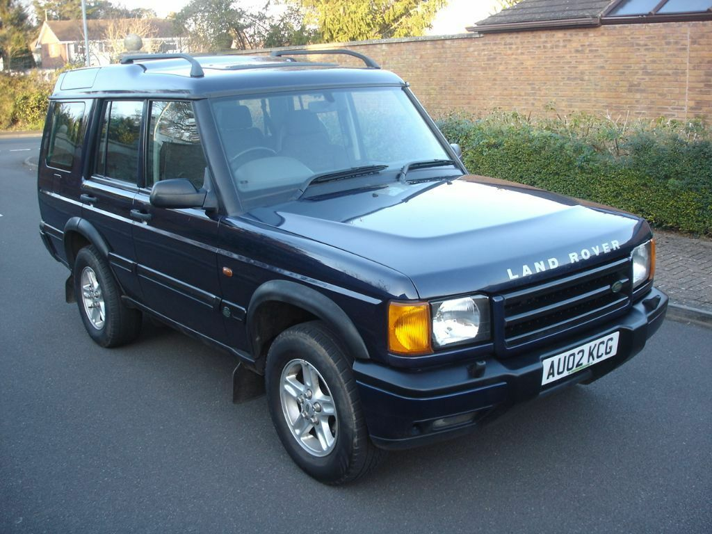 2002 02 land rover discovery td5 gs diesel 7 seater 4x4. Black Bedroom Furniture Sets. Home Design Ideas