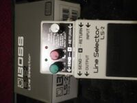 ATTENTION! XMAS PRESENTS in the form of 3 x Boss Guitar Effects Pedals as one lot or individually.