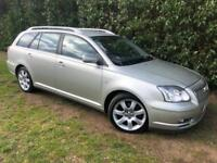 AUTOMATIC TOYOTA AVENSIS ESTATE - LONG MOT, LEATHER, SERVICE HISTORY