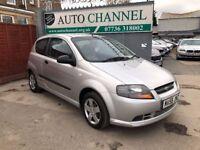 Chevrolet Kalos 1.2 S 3dr£1,990 p/x welcome FREE WARRANTY. NEW MOT