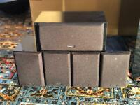 Tannoy HTS 101 5.1 speakers and stand