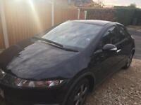 Black Honda Civic for sale low mileage