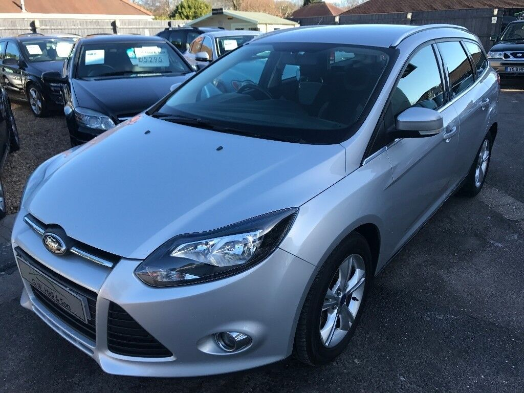 2012/12 FORD FOCUS 1.6 TDCi ZETEC 5DR ESTATE, 2 OWNERS,SERVICE HISTORY