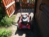 Petrol lawnmower for sale