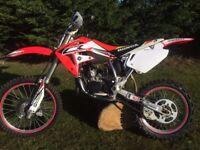 Honda CR85 Big wheel. Childs MX motocross - YZ KX CRF RM KTM 50 80 85 125
