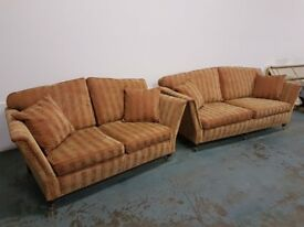 LUXURY DURESTA RUSKIN SOFA SET / LOUNGE SUITE 3 & 2 SEATER SETTEE DELIVERY AVAILABLE