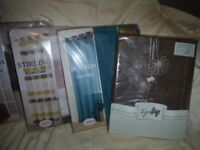 VOILE PANEL CURTAINS ALL NEW JOB LOT