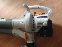Petrol leaf blower and vacuum
