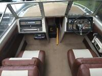 1975 Chrysler Boat Courier 154 Bowrider with trailer