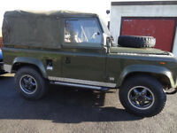 Land Rover 90 V8 4.3 special edition