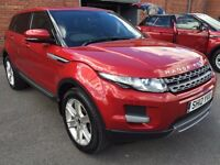 2012-13 2012-12 LAND ROVER RANGE ROVER EVOQUE PURE ED4 IN FIRENZE RED ( BIG BIG BIG SPEC )
