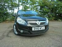 010 VAUXHALL CORSA SXI 1.4,3 DOOR,MOT JULY 021,2 OWNER'S FROM NEW,PART-HISTORY,LOVELY EXAMPLE