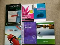 Law degree textbooks