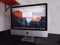 "Early 2009 24"" Apple iMac Core 2 Duo 2.93ghz 8GB RAM 500GB HDD Nvidia 130M GPU"