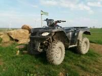 Suzuki king quad 450 road reg AGRI EFI IRS