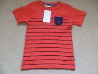 Boys Jo Jo Maman Bebe Top Brand New With Tags Attached Aged 5-6 Years