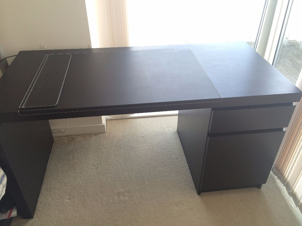 Ikea Malm Desk Excellent Condition In Manchester City