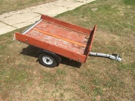Small trailer - idea for trips to the dump