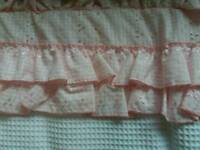 New Cot bumper Pink By country cradles