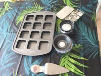 Pampered chef baking equipment. Perfect condition, mostly unused.