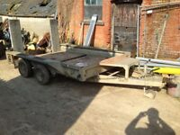 Ifor Williams gx106 plant trailer
