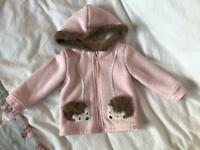 Mantaray 12/18 Months Baby Girls Hoody/Jacket In Good Condition!