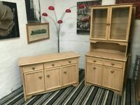 Living Room Storage & Display cabinet Set with draws storage Two Sets