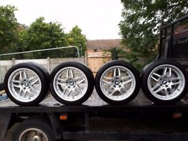 BMW ALLOY WHEELS AND TIRES