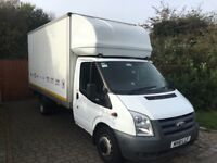 Ford transit 14ft Luton with tail lift 61 reg 104,000 miles 1 owner inc vat