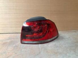 Golf mk6 gtd rear light for sale 2009 2010 2011 2012