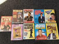 Collection of Stand Up Comedians DVDs