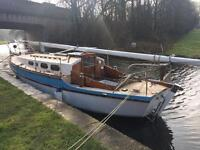 Sailing boat for sale spares reapairs
