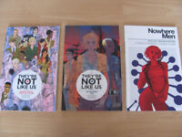 Image comics 'They're not Like Us' Vols 1&2 and 'Nowhere Men' Vol 1 graphic novels for sale