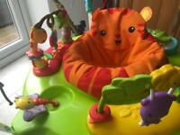 Fisher price jumperoo 6 'months old hardly used