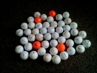 50 USED GOLF BALLS FOR SALE.