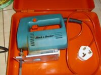 Black and Decker Jigsaw Tool