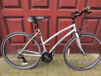 """LADIES HYBRID BIKE...""""SPECIALIZED CROSSROADS"""" 19"""" FRAME..GREAT CONDITION."""