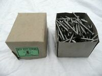 Box of 200 Wood Screws 2.5 inches by 7/16 of an inch head